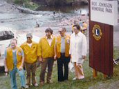 1977—Dedication of Rick Johnson Memorial Park